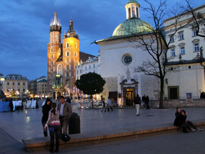 cracow for sightseeing and tourism